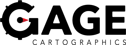 Gage Cartographics Sticky Logo